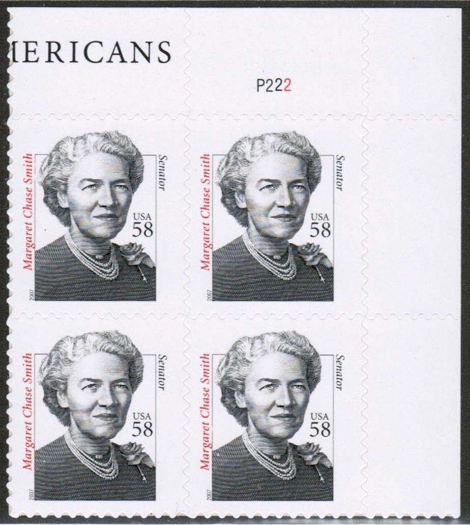 "Scott 3427 Plate Block (58 cents) <p> <a href=""/images/USA-Scott-3427-PB.jpg""><font color=green><b>View the image</a></b></font>"