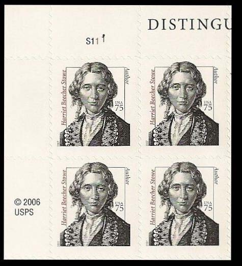 "Scott 3430 Plate Block (75 cents) <p> <a href=""/images/USA-Scott-3430-PB.jpg""><font color=green><b>View the image</a></b></font>"