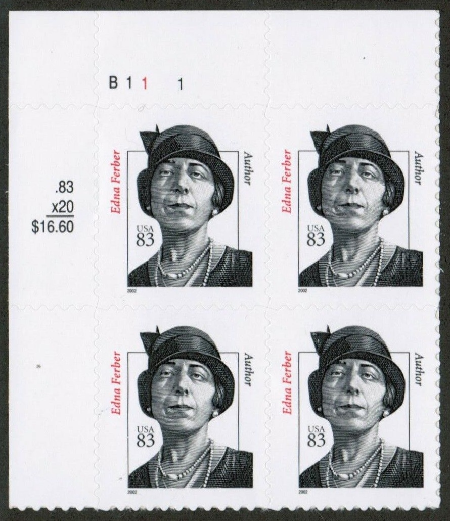 "Scott 3433 Plate Block (83 cents) Year 2002 <p> <a href=""/images/USA-Scott-3433-PB.jpg""><font color=green><b>View the image</a></b></font>"