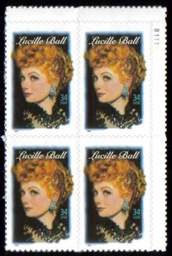 "Scott 3523 Plate Block (34 cents) <p> <a href=""/images/USA-Scott-3523-PB.jpg""><font color=green><b>View the image</a></b></font>"
