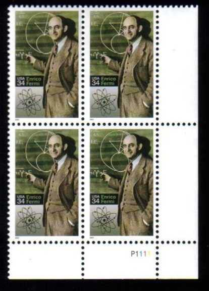 "Scott 3533 Plate Block (34 cents) <p> <a href=""/images/USA-Scott-3533-PB.jpg""><font color=green><b>View the image</a></b></font>"