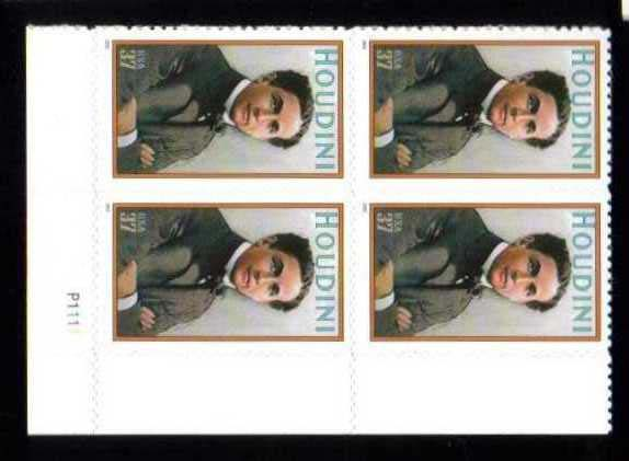 "Scott 3651 Plate Block (37 cents) <p> <a href=""/images/USA-Scott-3651-PB.jpg""><font color=green><b>View the image</a></b></font>"