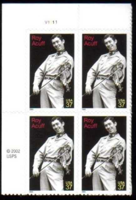 "Scott 3812 Plate Block (37 cents) <p> <a href=""/images/USA-Scott-3812-PB.jpg""><font color=green><b>View the image</a></b></font>"