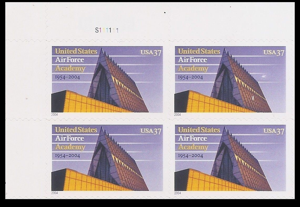 "Scott 3838 Plate Block (37 cents) <p> <a href=""/images/USA-Scott-3838-PB.jpg""><font color=green><b>View the image</a></b></font>"