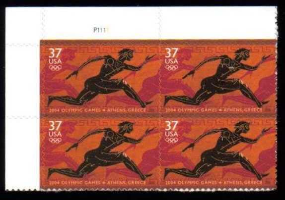 "Scott 3863 Plate Block (37 cents) <p> <a href=""/images/USA-Scott-3863-PB.jpg""><font color=green><b>View the image</a></b></font>"