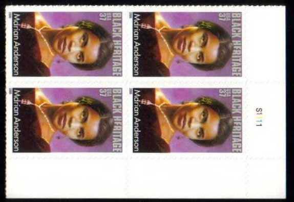 "Scott 3896 Plate Block (37 cents) <p> <a href=""/images/USA-Scott-3896-PB.jpg""><font color=green><b>View the image</a></b></font>"