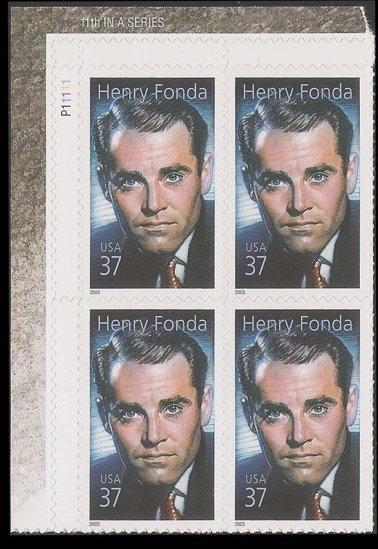 "Scott 3911 Plate Block (37 cents) <p> <a href=""/images/USA-Scott-3911-PB.jpg""><font color=green><b>View the image</a></b></font>"