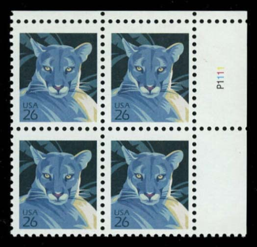"Scott 4137 Plate Block (26 cents) <p> <a href=""/images/USA-Scott-4137-PB.jpg""><font color=green><b>View the image</a></b></font>"