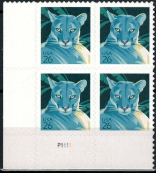 "Scott 4139 Plate Block (26 cents) <p> <a href=""/images/USA-Scott-4139-PB.jpg""><font color=green><b>View the image</a></b></font>"