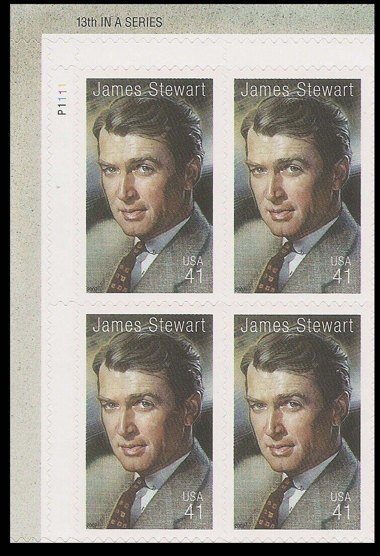 "Scott 4197 Plate Block (41 cents) <p> <a href=""/images/USA-Scott-4197-PB.jpg""><font color=green><b>View the image</a></b></font>"