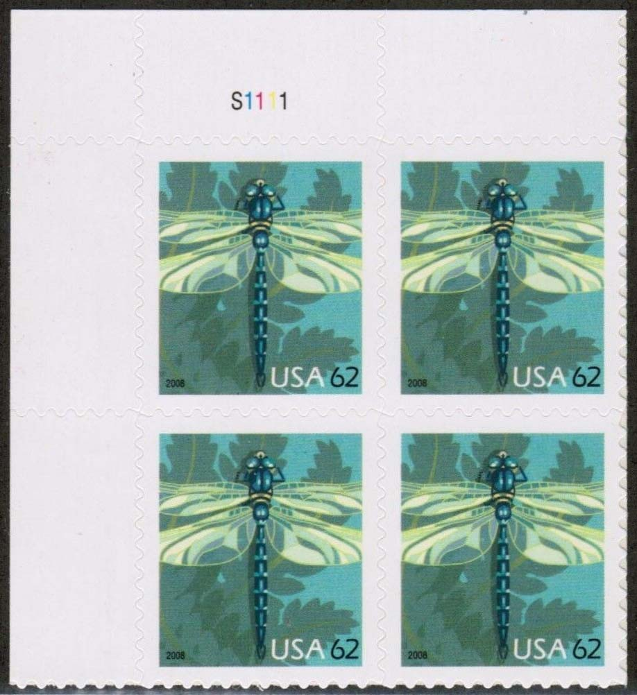 "Scott 4267 Plate Block (62 cents) <p> <a href=""/images/USA-Scott-4267-PB.jpg""><font color=green><b>View the image</a></b></font>"