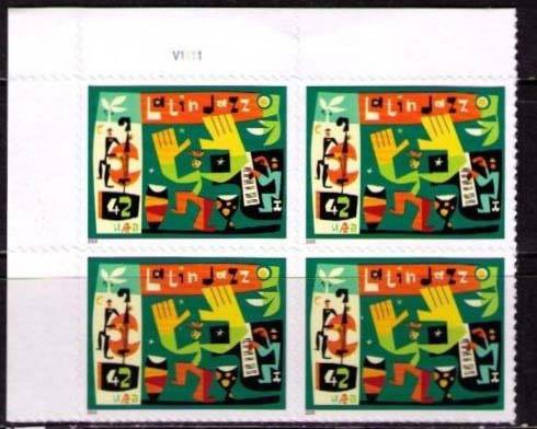"Scott 4349 Plate Block (42 cents) <p> <a href=""/images/USA-Scott-4349-PB.jpg""><font color=green><b>View the image</a></b></font>"