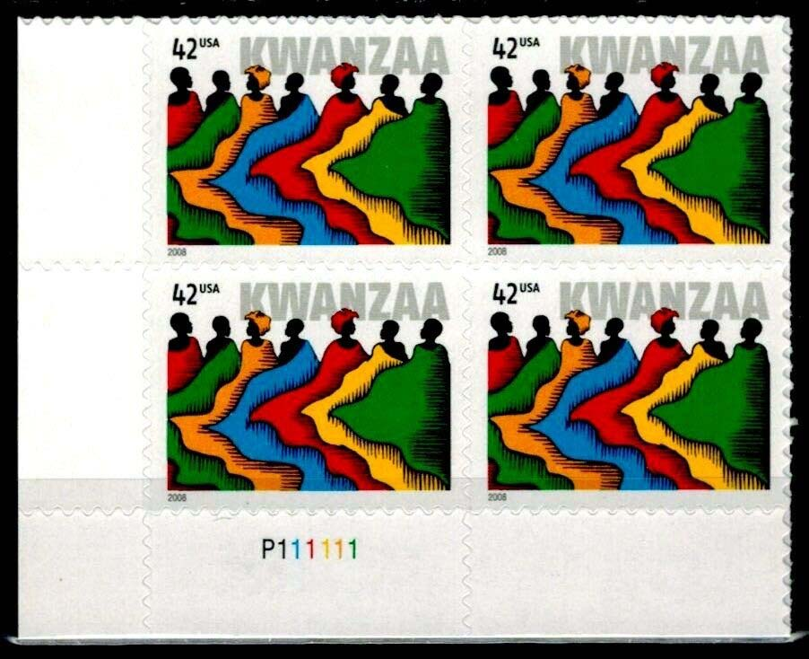 "Scott 4373 Plate Block (42 cents) <p> <a href=""/images/USA-Scott-4373-PB.jpg""><font color=green><b>View the image</a></b></font>"