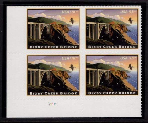 "Scott 4439 Plate Block ($16.50) <p> <a href=""/images/USA-Scott-4439-PB.jpg""><font color=green><b>View the image</a></b></font>"