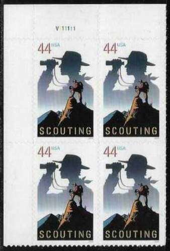 "Scott 4472 Plate Block (44 cents) <p> <a href=""/images/USA-Scott-4472-PB.jpg""><font color=green><b>View the image</a></b></font>"