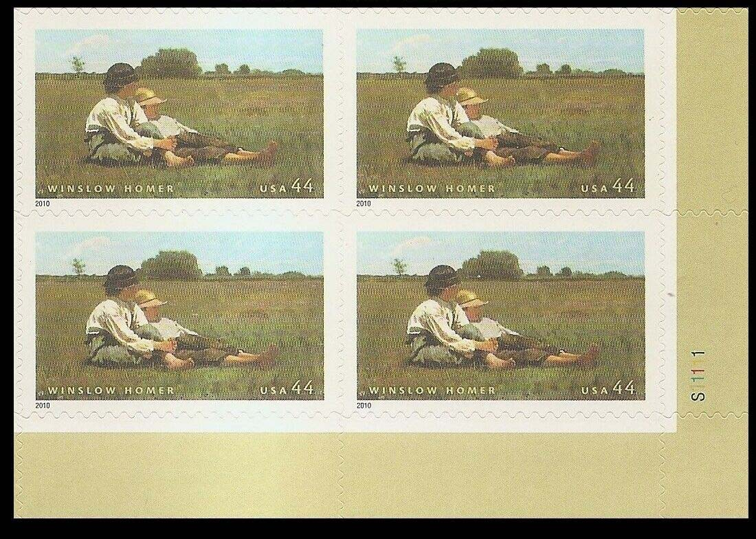"Scott 4473 Plate Block (44 cents) <p> <a href=""/images/USA-Scott-4473-PB.jpg""><font color=green><b>View the image</a></b></font>"