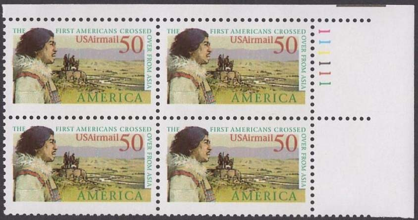 Scott C-131 Plate Block (50 cents) <p> <a href=&quot;/images/USA-Scott-C-131-PB.jpg&quot;><font color=green><b>View the image</a></b></font>